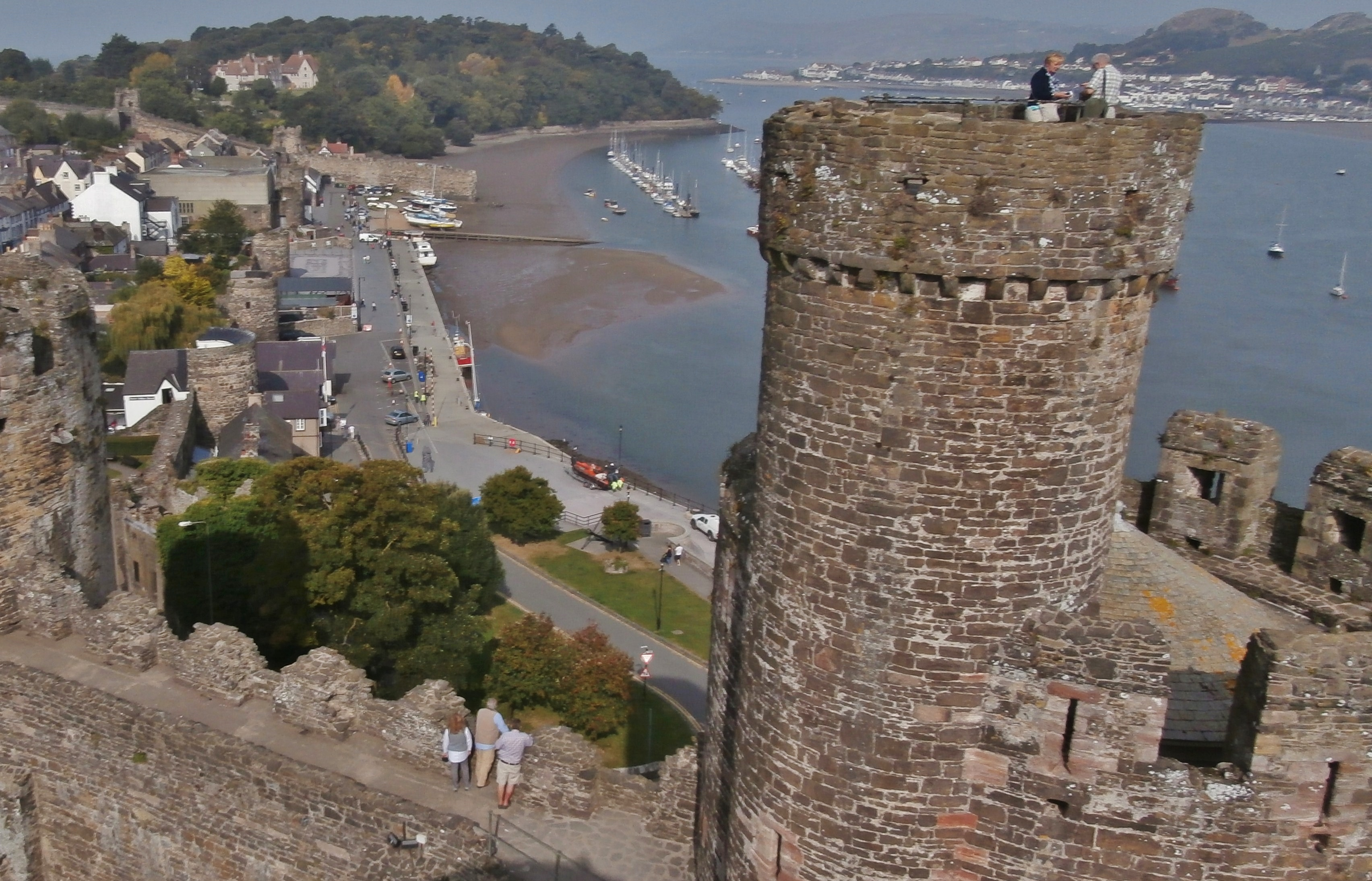 Conwy Castle Conwy travel feature by Adrian Caffery 2015