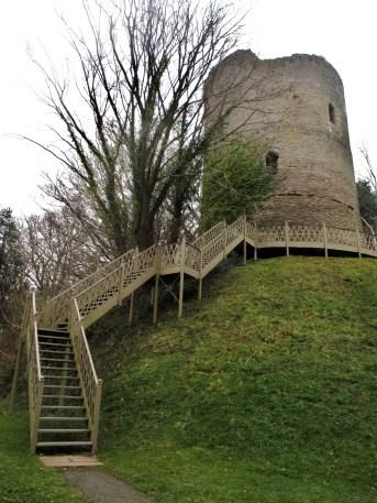 Bronllys Castle, near Talgarth