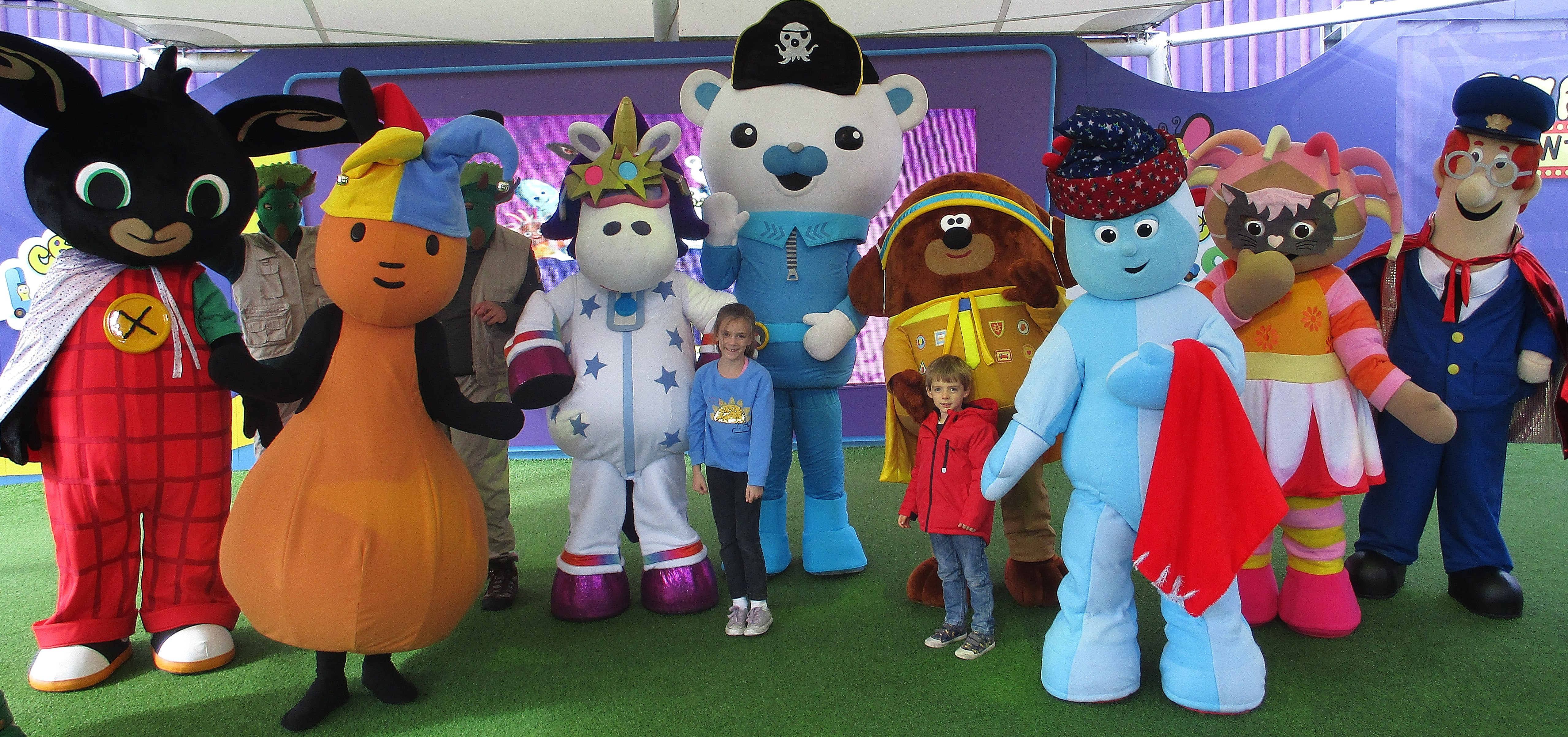 Halloween Party at CBeebies Land